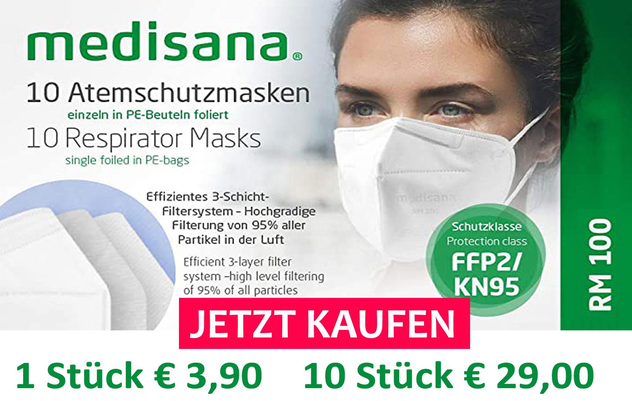 Atemschutzmaske Medisana FFP2 Maske kaufen