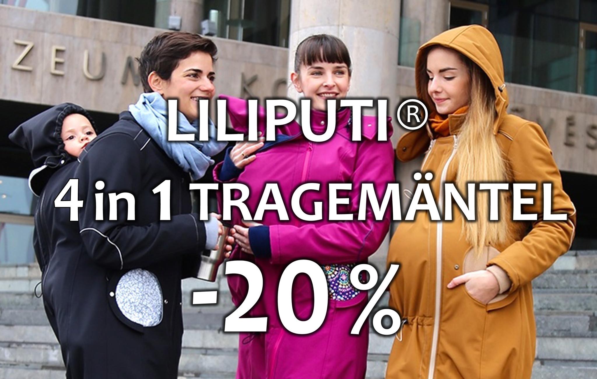 Liliputi 4 in 1 Tragemantel in Aktion, -20% Rabatt Liebli Kindermode, Baby Shop, Baby Geschäft, Baby Tragen, Babytrage, Babys Tragen, Umstandsmantel