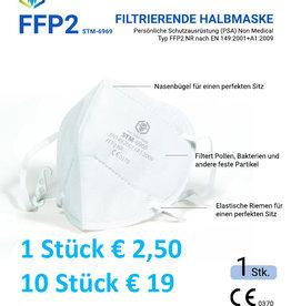 10 Stück CE FFP2 Maske,  STM 6010