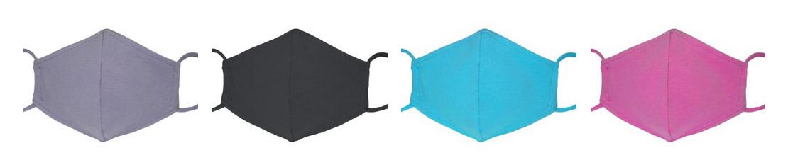 Einfarbige Stoffmasken Corona Masken, FFP2 Untermaske, FFP2 Übermaske günstig kaufen Wien