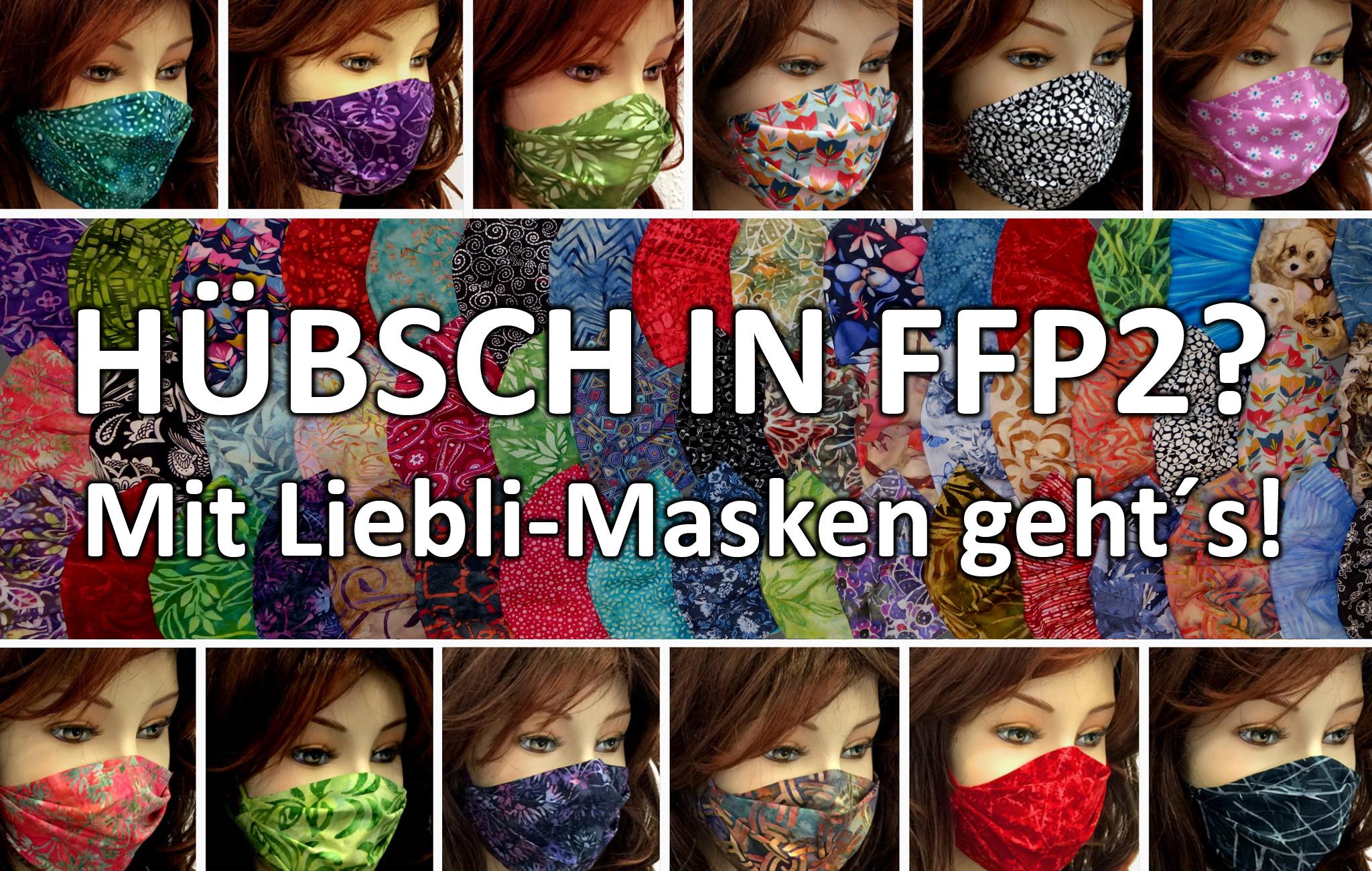Schöne FFP2 Masken, bunte FFP2 Masken, FFP2 Cover, hübsche FFP2 Masken, FFP2 Abdeckung, FFP2 Überzug, FFP2 Bezug, Wien Österreich regional produziert