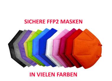 Bunte, farbige FFP2 Masken kaufen in Wien