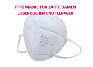 Kleine FFP2 Masken für zarte Damen