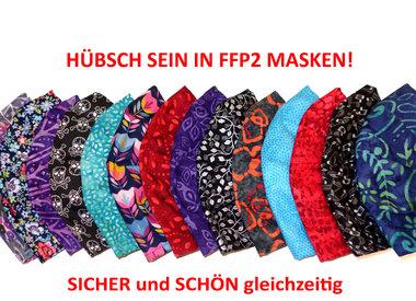 Gemusterte FFP2 nachhaltig