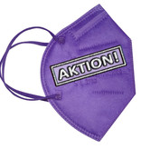 CE zertifizierte FFP2 Masken für Erwachsene lila