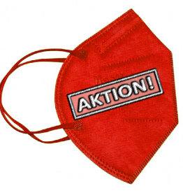 10 Stück bunte FFP2 Masken rot, CE zertifizierte bunte FFP2 Masken