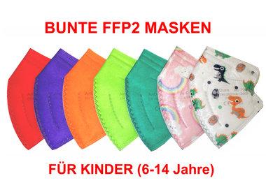Kinder FFP2 Masken, FFP2 Kindermasken