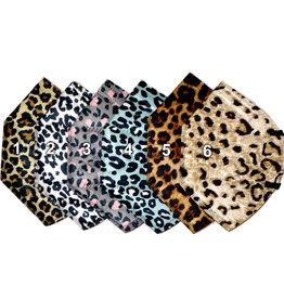 Gemusterte FFP2 Masken Leopard