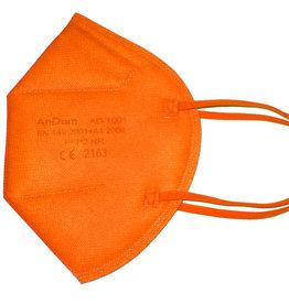 Bunte FFP2 Maske  orange  ab 0,75 €