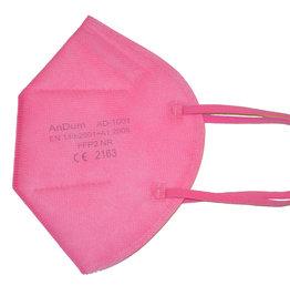 Bunte FFP2 Maske rosa ab 0,75 €
