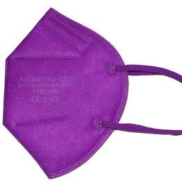 Bunte FFP2 Maske lila ab 0,75 €