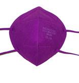 CE zertifizierte bunte FFP2 Maske lila schon ab 0,75 € B2B