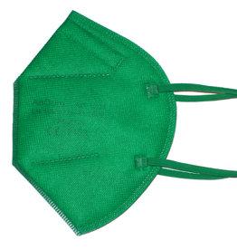 Bunte FFP2 Maske grasgrün ab 0,75 €
