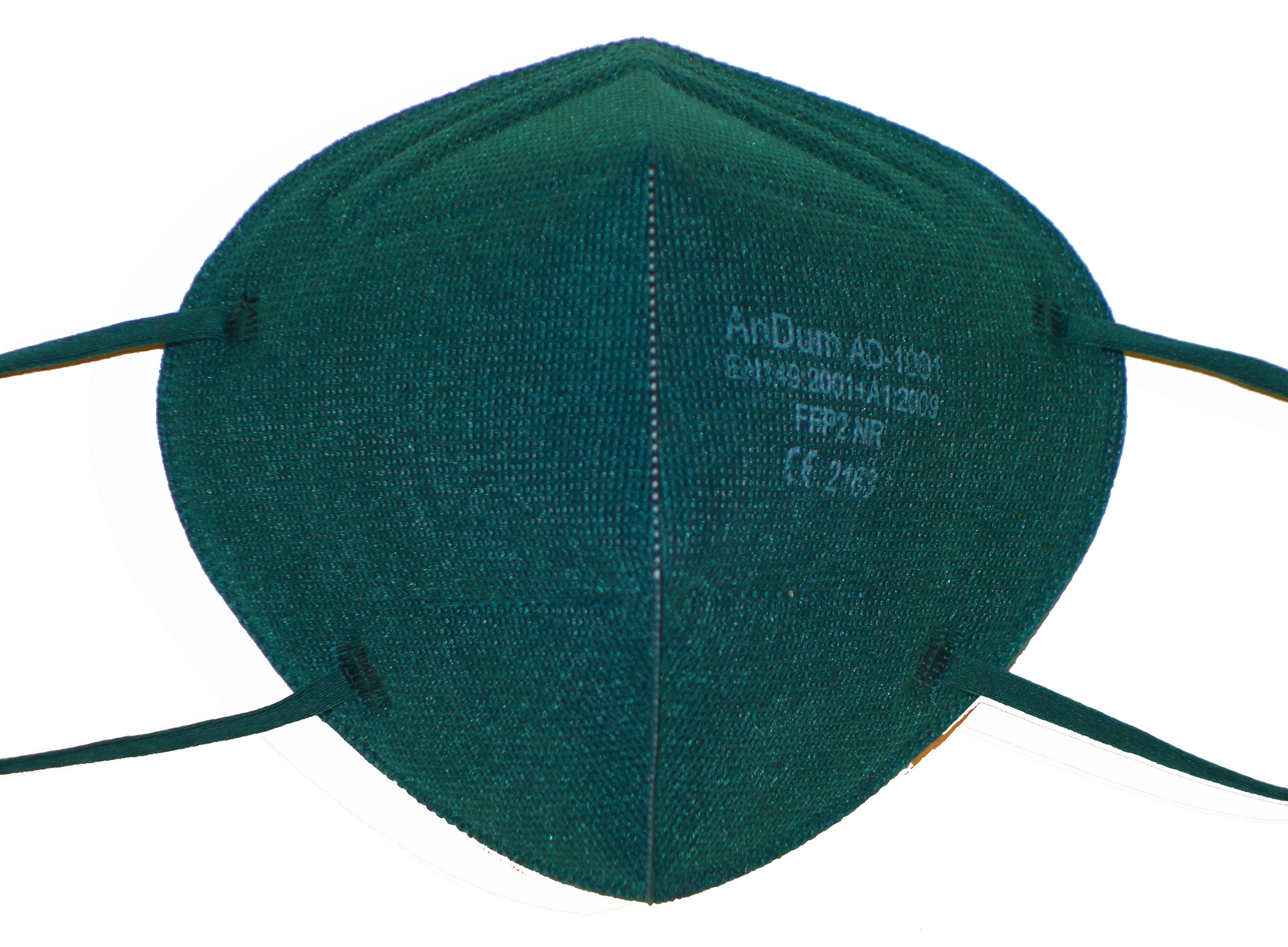 CE zertifizierte bunte FFP2 Maske sehr dunkles grün / tannengrün schon ab 0,75 € B2B