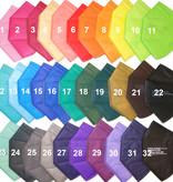CE zertifizierte bunte FFP2 Maske türkisblau schon ab 0,75 € B2B