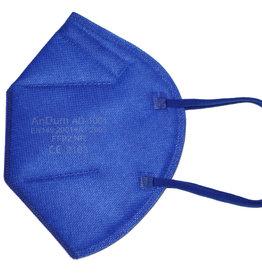 Bunte FFP2 Maske blau ab 0,75 €