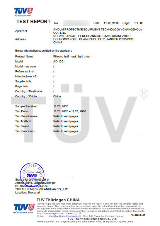 CE zertifizierte bunte FFP2 Maske rot schon ab 0,75 € B2B