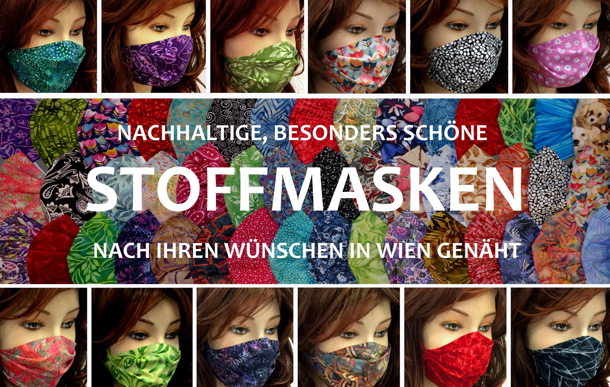 Stoffmasken, MNS, Schöne Stoffmasken, Mund Nasen Masken