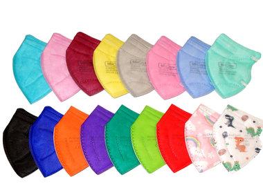 Bunte FFP2 Masken für Kinder