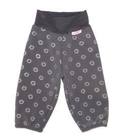 Softshell Hose für Kinder, Outdoor Hose, Regenhose, grau