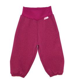 Softshell Hose für Kinder, Outdoor Hose, Regenhose Beere