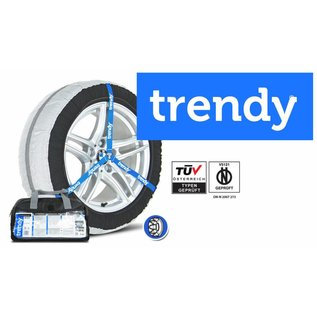 Sneeuwsok specifiek voor bandenmaat 315/40R21 model Trendy Snowsock