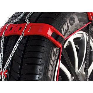 Modula-Steel-sock Sneeuwkettingen personenauto 9mm 215/55R18 - Super snelle eenvoudige montage - Modula