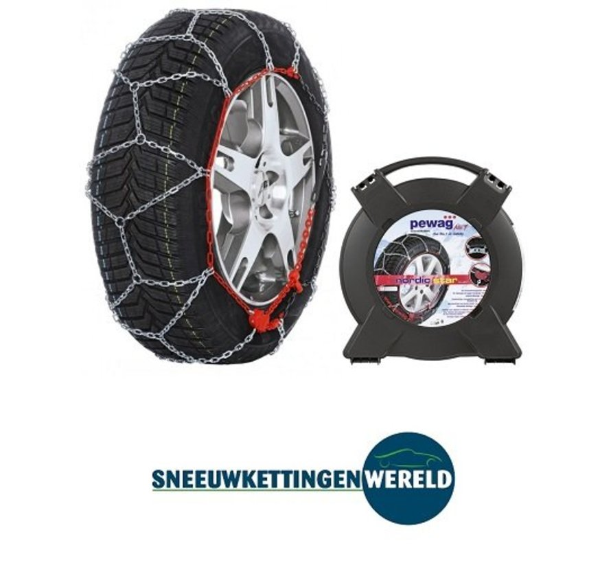 Sneeuwkettingen Pewag Nordic Star 9mm  195/65R16