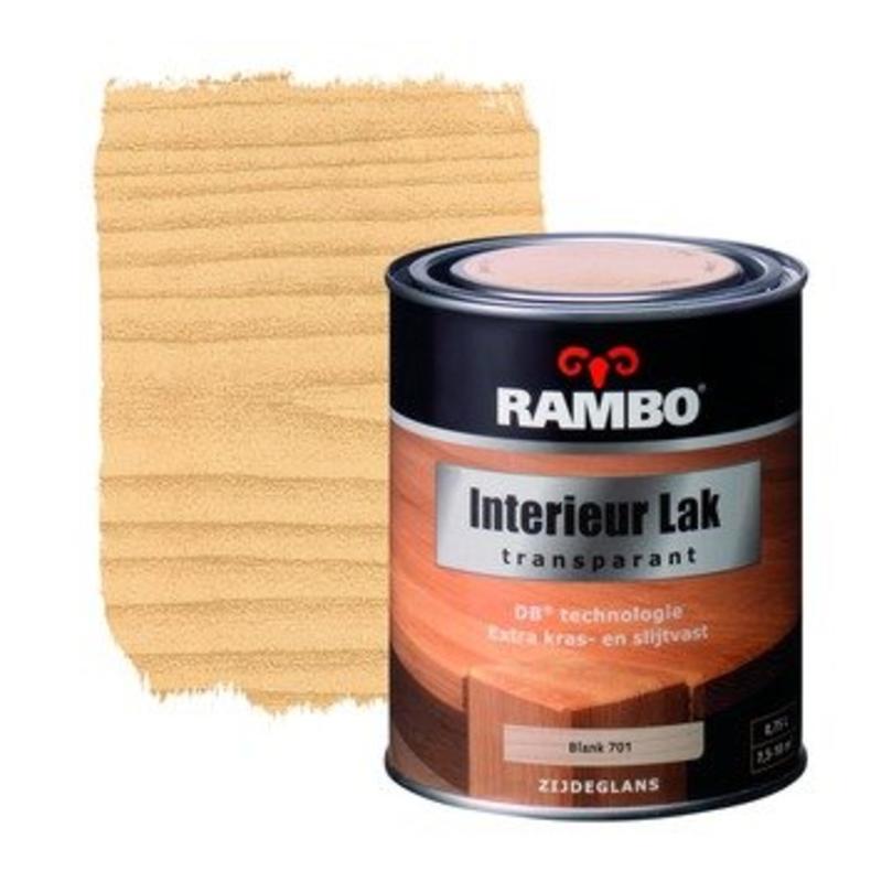 Rambo Rambo Interieur Lak Transparant