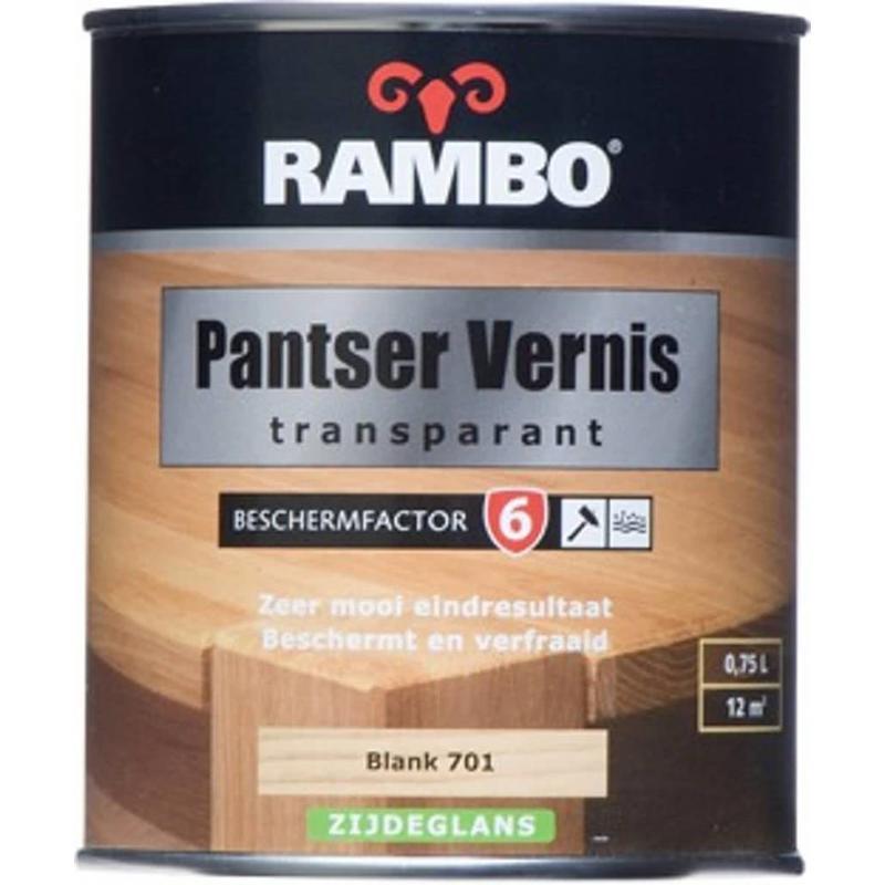 Rambo Pantser Vernis Transparant Alkyd