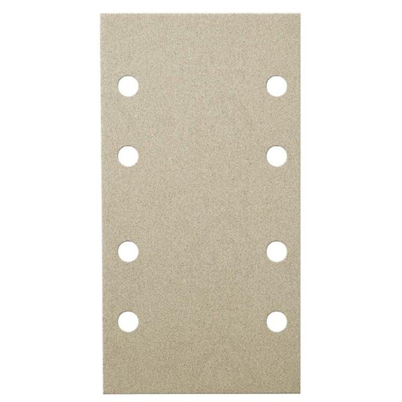 Klingspor schuurpapier rechthoek klitteband 80 x 133mm   8 gaten