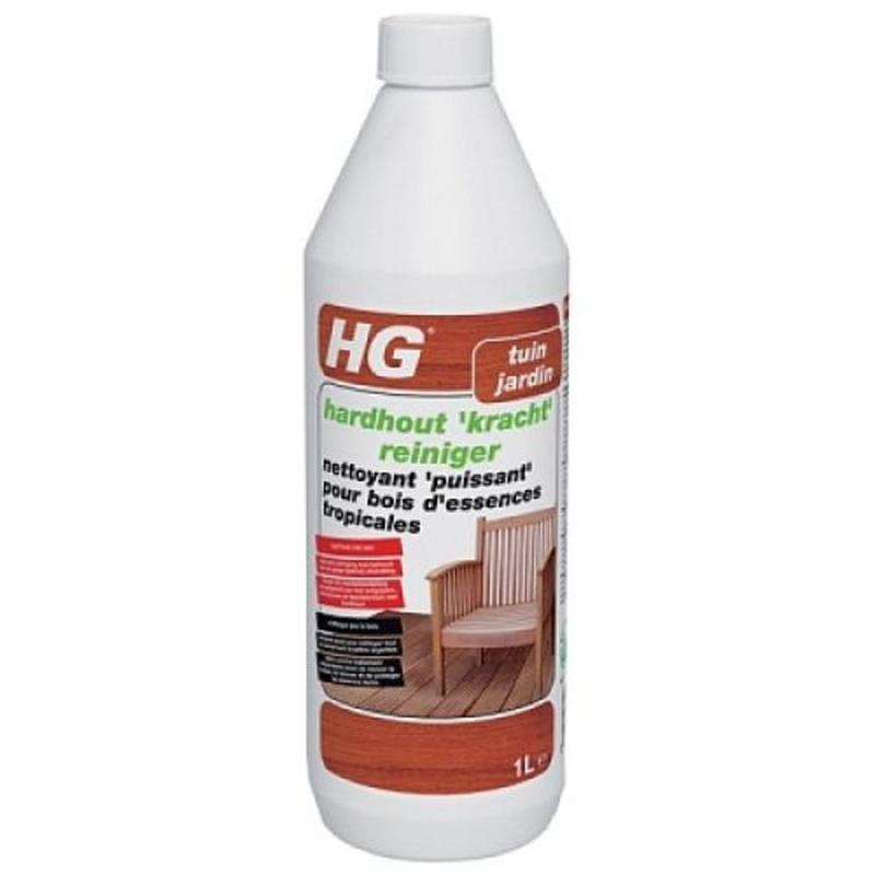 HG hardhout kracht reiniger