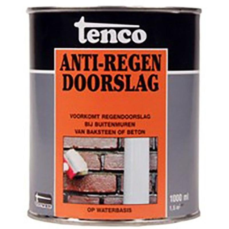 Tenco anti-regen doorslag