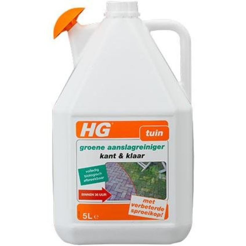 HG groene aanslagreiniger kant-en-klaar 5L