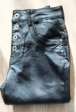 Jewelly  baggy jeans Zwarte broek