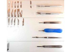 Mesjes voor Hobbymes en scalpel