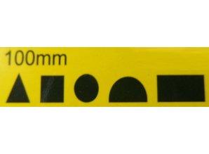 Needle files set 100mm mini Diamond- 5pcs.