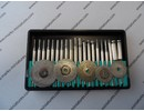 Diamond Burs + diamond disks - 25 parts