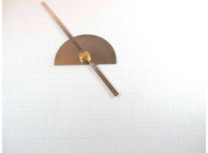 Gradenboog met dieptemeter