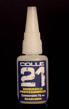 Colle 21 anaerobe secondelijm - 21 gram