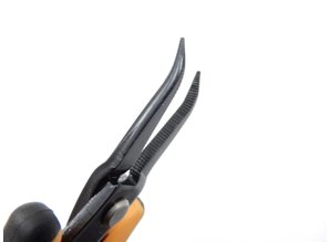 Needle nose pliers bent fine