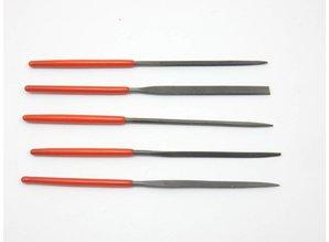 Needle files set 100mm mini - 5 pcs.