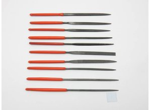 Needle files set 100mm mini - 10 pcs.