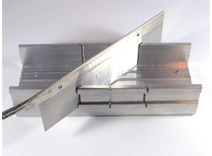 verstekbakje aluminium