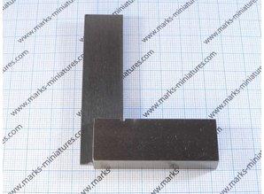 Blokhaak - winkelhaakje 57x77mm