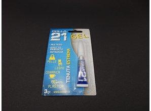 Colle 21 anaerobic cyanoacrylate glue - GEL- 3 Gram