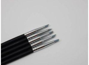 Modelleer penselen, silicone tip