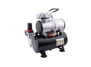 Airbrush Kompressor mit dem Druckbehälter
