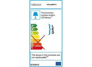 LED-LOEPLAMP - DAGLICHTLAMP - DIMBAAR - 3 DIOPTRIE - 60 LEDs - WIT