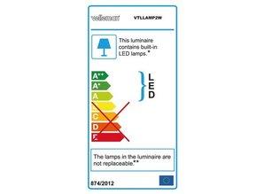 LED-LOEPLAMP 5 DIOPTRIE - DAGLICHT - 4 W - 48 LEDs - WIT